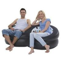 Comfortable Black Living Room Modern Inflatable Furniture Sofa Not Dirt Manufactures