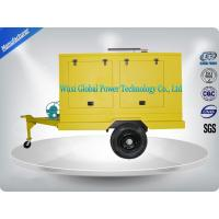 Portable Diesel Trailer Mounted Generator With Water Cooled Cooling System Manufactures