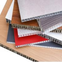 Thermal Insulation Aluminum Honeycomb Panels Fire Resistance For Wall Cladding Manufactures