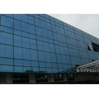 Grey Color Aluminium Curtain Wall Commercial Building Building Curtain Wall Manufactures