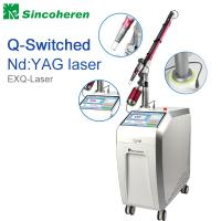 Q Switched Nd YAG Laser Tattoo Removal Machine , Laser Treatment For Birthmark / Nail Fungus Manufactures