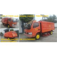 factory sale best price RHD road sweeping vehicle manufacturer in China,good price CLW brand 4*2 RHD street sweeper Manufactures