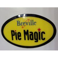 Flexible Glass Company Name Plates For Appliances / PVD Stickers Manufactures