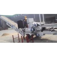 Buy cheap Mobile wood chipper diesel model HYHM1300 capacity 10 to 15 ton per hour from wholesalers