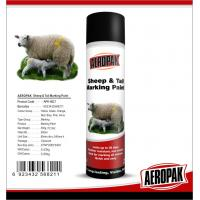 Eco Friendly Marking Spray Paint , Fast Drying Pig / Cattle / Sheep Marking Paint Manufactures