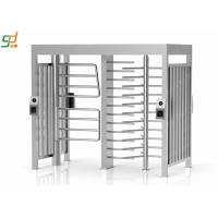 Security Automatic Turnstiles Stainless Steel Full Height Turnstile Gate Manufactures