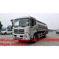 Quality Factory sale bottom price dongfeng 18,000Liters oil tank delivery truck, HOT for sale