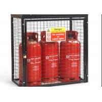 Small Gas Cylinder Cages Propane Tank Storage Easily Assembled / Dissembled Manufactures