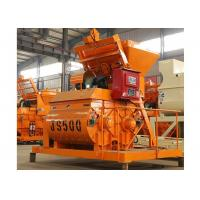 500L Double Shaft Horizontal Cement Mixer 25m3/H Capacity With Electric Engine Manufactures