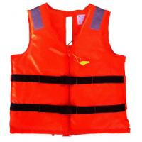 Red Offshore Jet Ski Life Jackets With Waterproof Oxford Cloth Materials Manufactures