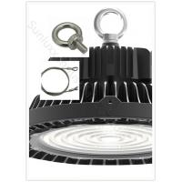 UFO High Bay LED Lights Die Casting Pure Aluminum Shell Type With Safety Rope Component