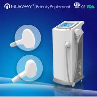 China Excellent cooling system sapphire big spot 808nm diode laser machine for hair removal on sale
