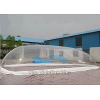 Decoration Bubble Tent Night Transparent Inflatable Swimming Pool Cover Manufactures
