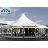 Marketing Polygon Outdoor Event Tent Rental Sound Insulation Easy Maintenance Manufactures