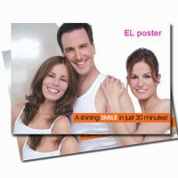 outdoor flashing OEM service advertising el animated poster Manufactures