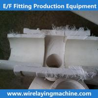 China electro fusion fitting production equipment, ppr wire laying machine, cx-32/160zf electro on sale