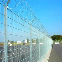 Buy cheap Military isolation fence with razor barbed wire from wholesalers