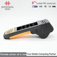 China Modules Wireless Printer Android PDA Thermal Printer With Bar Code Scanner on sale