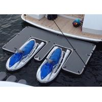 Buy cheap Waterproof Inflatable Yacht Slides With Personalized Logo Grey / Blue Color from wholesalers