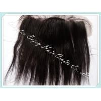Peruvian virgin remy hair silk lace frontal 13''x4'' ,natural color straight  10''-24''. Manufactures