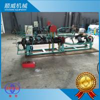 1T Weight Razor Barbed Wire Machine 1.5mm - 3.0mm Strand Diameter Manufactures