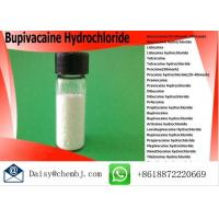 Pain Killer Powder Bupivacaine Hydrochloride For Local Anesthetics , Cas No 14252-80-3 Manufactures