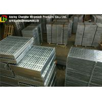 Galvanised Round Bar Compound Steel Grating Preventing Dirt Deposition Manufactures
