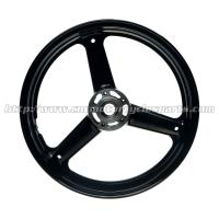 High Precise Custom Motorcycle Rims Wheels With Aluminum Hubs Manufactures