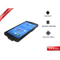 Buy cheap CPU Octa Core Android Barcode Scanners OS Handheld Computer RFID Reader from wholesalers