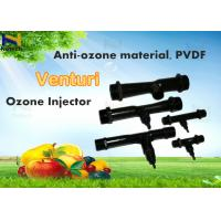 China PVDF Venturi Air Injector Ozone Generator Parts For Ozone Water Treatment Systems on sale