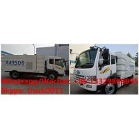 customized YIQI FAW brand 4*2 RHD diesel road sweeping truck for sale, Factory wholesale price  street sweeper Manufactures