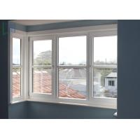 Soundproof Aluminium Double Hung Windows , Single Hung Aluminium Windows Manufactures