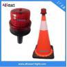 Buy cheap 4LED Sensor Lighting Road Barricade Light Solar LED Warning Light for Traffic Cone from wholesalers
