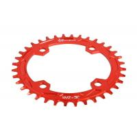 Red Anodized Bike Sprocket / Freewheel CNC Machining Parts for Road Bicycle Manufactures