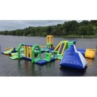 Adult / Kids Inflatable Water Games With Slide Easy Installation SGS Approval Manufactures
