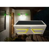 China Waterproof Curve Solar Powered Outdoor Motion Lights , 500LM Solar Motion Porch Light on sale