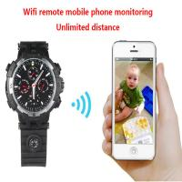 Y31 16GB 720P WIFI IP Spy Watch Hidden Camera Recorder IR Night Vision Home Security Wireless Remote Video Monitoring Manufactures
