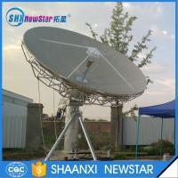 4.5m c band motorized Rx/Tx earth station satellite antenna Manufactures