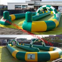 Inflatable go karts track inflatable race track for sale Manufactures