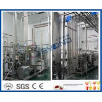 China Automated Manufacturing Systems Beverage Processing Equipment With Beverage Filling Line on sale