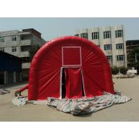 PVC White Inflatable Party Tent Fireproof Good Tension For Wedding Manufactures