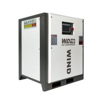 7.5kw 10hp Wind Permanent Magnet Industrial Screw Air Compressor Manufactures