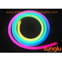 RGB SMD 2835 100D DC 12 Volt LED Rope Lights / Bendable Neon Lights For Christmas Manufactures
