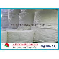 Disposable Spunlace Nonwoven Fabric ISO Approve For Pharmaceutical Manufactures