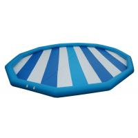 Durable 0.9mm PVC Tarpaulin Inflatable Family Pool , Amusement Equipment Manufactures