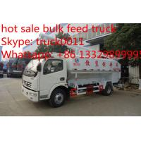 2017s hot sale dongfeng 12m3 hydraulic poultry feed truck, factory sale best price farm-oriented poultry feed truck Manufactures