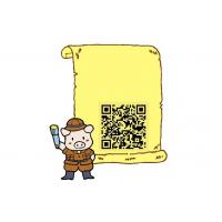 China Dynamic QR Code Stickers  on sale