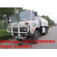 Factory sale Bottom price dongfeng 6x6 fuel truck tanker for sale, HOT SALE! UN customized dongfeng 6*6 LHD fuel dispens Manufactures