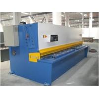 Plate Sheet Metal CNC Swing Hydraulic Shearing Machines Bosch-Rexroth / Siemens Motor Manufactures