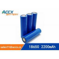 miner lamp battery rechargeable 18650 2200mAh 3.7V cell battery UN38.3, MSDS Manufactures